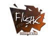 Sticker flusha | Cologne 2016