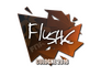 Skin Sticker | flusha | Cologne 2016