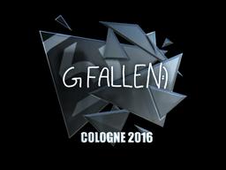 Sticker | FalleN (Foil) | Cologne 2016