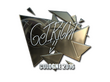Sticker GeT_RiGhT (Foil) | Cologne 2016