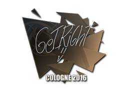 Sticker | GeT_RiGhT | Cologne 2016