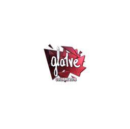Sticker | gla1ve (Foil) | Cologne 2016