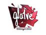 Skin Sticker | gla1ve (Foil) | Cologne 2016