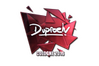 Sticker | dupreeh (Foil) | Cologne 2016