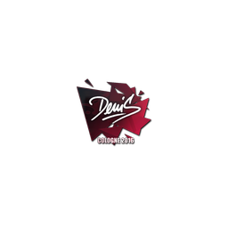 Sticker | denis | Cologne 2016