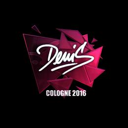 denis (Foil) | Cologne 2016