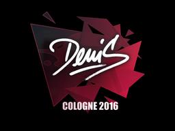 denis | Cologne 2016