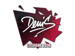Sticker | denis | Cologne 2016