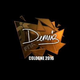 dennis (Foil) | Cologne 2016