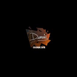 Sticker   dennis   Cologne 2016