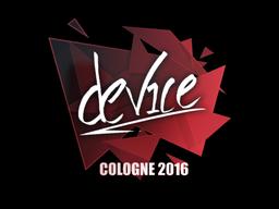 device | Cologne 2016
