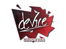 Sticker | device | Cologne 2016