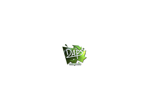 Sticker | daps (Foil) | Cologne 2016