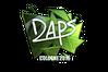 Sticker | daps (Foil) | Cologne 2016