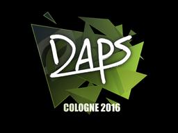 Sticker | daps | Cologne 2016