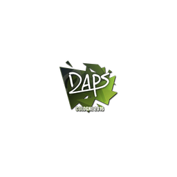 Sticker | daps | Cologne 2016
