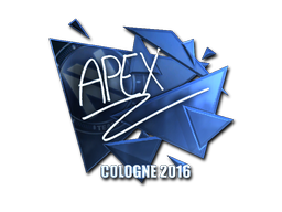 Sticker | apEX (Foil) | Cologne 2016