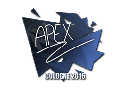 Sticker | apEX | Cologne 2016