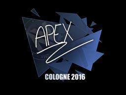 Sticker | apEX | Cologne 2016