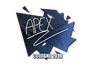Skin Sticker | apEX | Cologne 2016