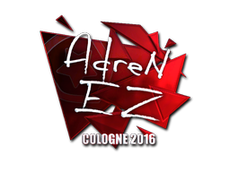Sticker | AdreN (Foil) | Cologne 2016