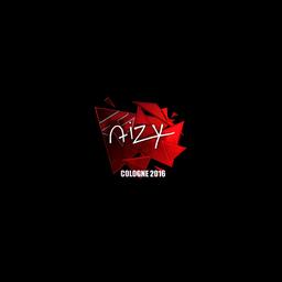 Sticker   aizy (Foil)   Cologne 2016