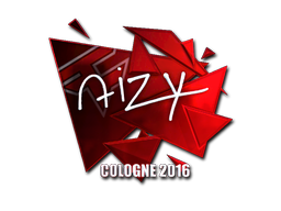 Sticker | aizy (Foil) | Cologne 2016