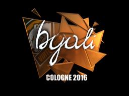 byali | Cologne 2016
