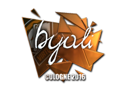 Sticker | byali (Foil) | Cologne 2016