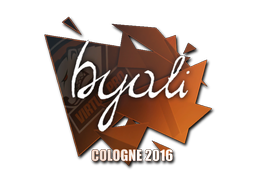 Sticker | byali | Cologne 2016