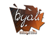 Sticker byali | Cologne 2016