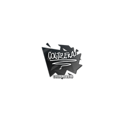 Sticker   coldzera   Cologne 2016