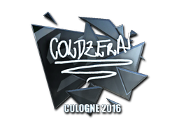 Sticker | coldzera (Foil) | Cologne 2016