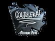 Sticker coldzera (Foil) | Cologne 2016