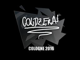 Sticker | coldzera | Cologne 2016