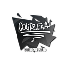Sticker | coldzera | Cologne 2016