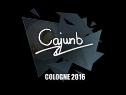 Sticker | cajunb | Cologne 2016