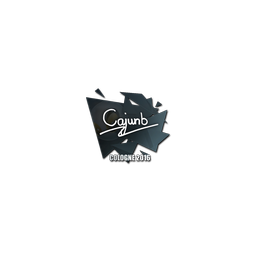 Sticker   cajunb   Cologne 2016