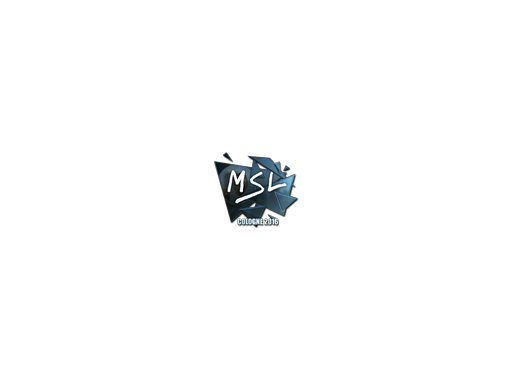 Sticker | MSL (Foil) | Cologne 2016