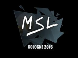 MSL | Cologne 2016