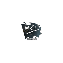 Sticker | MSL | Cologne 2016