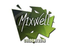 Sticker | MIXWELL | Cologne 2016