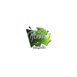 Sticker | MIXWELL (Foil) | Cologne 2016