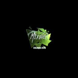 Sticker | MIXWELL (Foil) | Cologne 2016