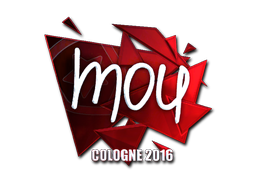 Sticker | mou (Foil) | Cologne 2016