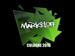 markeloff | Cologne 2016