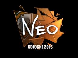 NEO | Cologne 2016