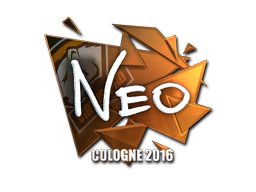 Sticker | NEO (Foil) | Cologne 2016