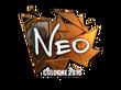 Sticker NEO (Foil) | Cologne 2016