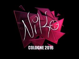 NiKo | Cologne 2016